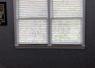 2 inch white wood blinds